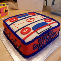 Hockey Rink Cake  Did this for a little girls 12th Birthday, who plays goalie for her local team. It's a new season so she doesn't have a certain...