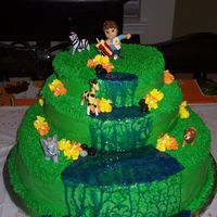Cannon's Cake The cake I made for my son's 4th birthday party. I saw the orginal on this site (sorry do not remember who orginally made it) and...