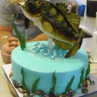 Bass Birthday Cake