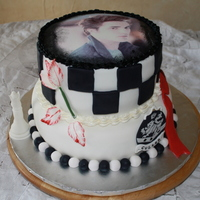 Another Twilight Cake This was a cake that a husband ordered for his wife's 40th birthday- Top was german chocolate with german chocolate filling and...