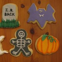 Halloween Cookies Thanks to many inspirations!