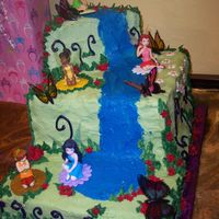 Catie's 5Th Tinkerbell & her fairy friends theme.