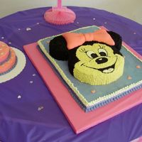 Minnie Mouse For my neices first birthday last year. This was my first ever attempt at cake decorating. Thanks to CC I am addicted!!!