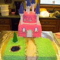 Castle Cake My first attempt at covering a cake with fondant. Turned out better than I thought, but I have a long way to go!