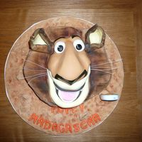 Alex Alex from Madagasca for my neice in chocolate cake.MMMMMMMmmmmmmmmm