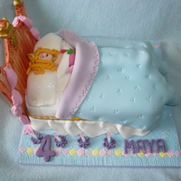 Sleeping Princess a cake for a little girl who loved princesses.