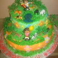 Dora And Diego Cake Very proud of this cake...