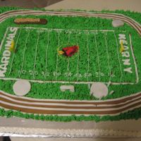 Track And Field Done for a High School track and field awards night. All bc with fondant/gumpaste decorations