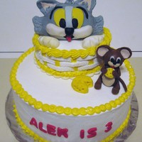 Tom And Jerry all BC with fondant figures