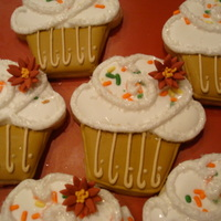 Fall Cupcake Cookie
