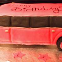 Pink Limo Cake I was asked to make a pink limo cake for a little girls Diva b-day party. I sculpted the cake and covered it in fondant. It has rice krispy...