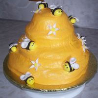 Bumble Bee Cake I made this cake for my DH's grandfather's birthday. He is a bee keeper and loves everything bees. This was a very fun cake to...
