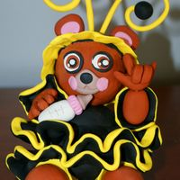 Bee Bear Baby With Sign Language I will make cake for Baby Shower on February 21 soon.