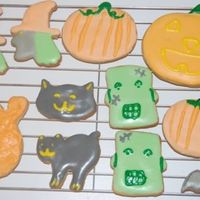 Halloween Cookies NFSC & Royal Icing