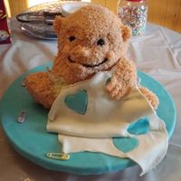 Baby My daughter shower cake. The pic does not do it as much justice It really did look like a baby! lol