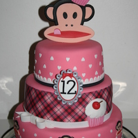 Paul Frank Cake For my daughters 12th birthday I made this Paul Frank cake.