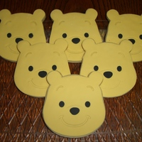 Winnie The Pooh Cookies Fondant decorated sugar cookies!