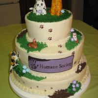 Humane Society  My daughter was turning 9 & had a birthday party to benefit the Humane Society. Guests brought donations for the animals rather than...