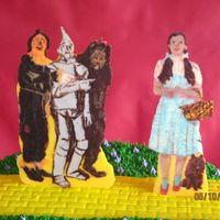 Wizard Of Oz Close-up of my Wizard of Oz chocolate transfers