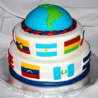Hispanic Heritage Cake This cake was made for a Hispanic Heritage corporate celebration