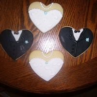 Wedding Cookies Inspiration from different wedding cookies on site