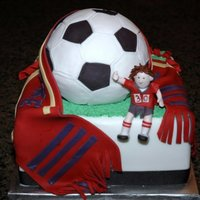 Real Salt Lake Cake