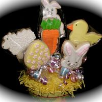 Easter Cookies NFSC with Antonia74 Royal Icing. These were a lot of fun to make !