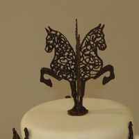 Horse Cake Topper Here is a closer pic of the topper, see whole cake in 3D Animals.