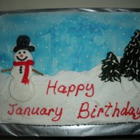 January/winter Birthdays