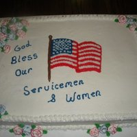 Veterans' Day Cake