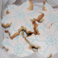 Snowflakes   Make a dozen & a half of these cookies. They were for a function & my daughters school.