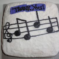 Thank You Note   Made this for a friend who has played the piano for me a couple times for church musical numbers.