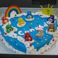 Care Bears   my sun broke, but i think it still turned out ok.