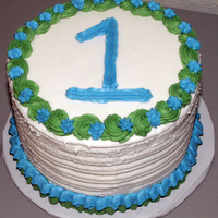 "1St Birthday Smash Cake used for 1st birthday cake ""smash"" cake and photos. All buttercream icing"