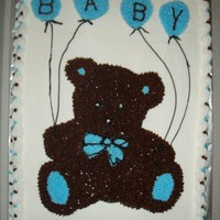 Teddy Bear Baby Shower A name had not been picked out which is why it just says baby