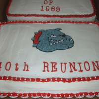 Cake For My Dads 40Th Class Reunion