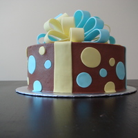 Auction Cake - Chocolate This was a cake I made and donated to our church auction to help raise money for our youth ministry's trip to our sister church in the...