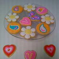 My First Cookies!!! I used Khalstad's (that could be spelled wrong) modified NFSC and Antonia47's royal icing. Nothing special, but it was lots of...
