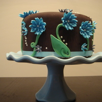 Spring Cake Most of the cakes I've been doing lately are inspired by several cakes that are in my favorites. This one was largely inspired by Mug-...