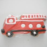 Firetruck Cookie Cookie covered with Antonia74 RI
