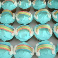 Rainbow Cupcakes This idea came from another user here amr70. I fell in love with them the first time I saw them and made them for my 1st graders end of the...