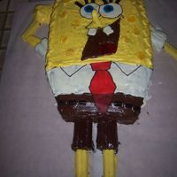 Diego's Spongbob Squarepants Birthday Cake I made this cake for my nephew's birthday. I actually found the intructions for this somewhere online just searched spongebob and I...