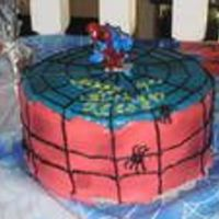 Reese's Spiderman Cake Made this cake for my son's 4th birthday. Used buttercream for the frosting. It was actually a Reese's peanut butter cake, after...