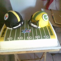 Super Bowl Xvl Cake