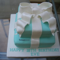 Tiffany Boxes This was made for an 18th birthday party