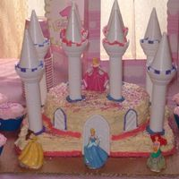 Princess Castle Cake This is the Princess Castle cake I made for my daughter Brooklynn's first Birthday party. She had a full out Princess party and loved...