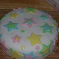 Star Cake this was my first cake made of fondant!!i had a lot of fun making it!!