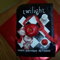 Bethany's Twilight Cake   The only thing that wasn't GP, MMF, or BC was the apple.