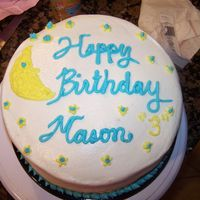 My Second Cake This was my second cake. It was a practice cake for my son's birthday. I definitely have come a long way! LOL!