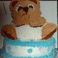 Bearcake.jpg First bear cake.